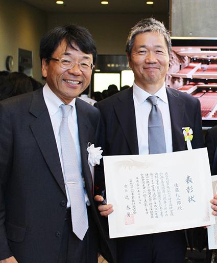 「避妊教育ネットワーク」発足以来のパートナー、一般社団法人日本家族計画協会 北村邦夫理事長と